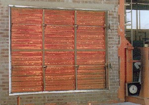 Fire dampers are passive fire protection products